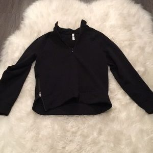 Lululemon sweater zip up with side zipper